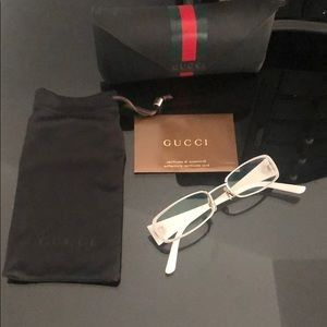 Gucci glasses with rx